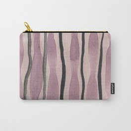 Purple watercolor Carry-All Pouch