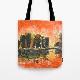 Orange city Tote Bag