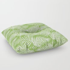 Palm Leaves_Greenery Floor Pillow
