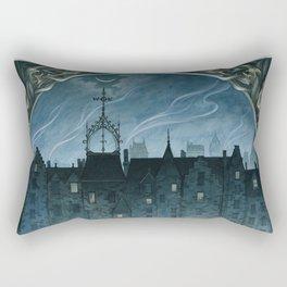 Boundary Walker Rectangular Pillow