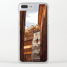 Zurich V Clear iPhone Case