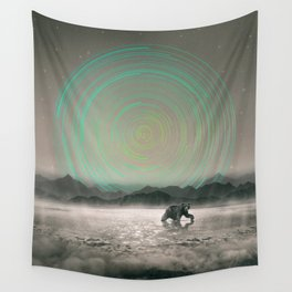 Spinning Out of Nothingness Wall Tapestry