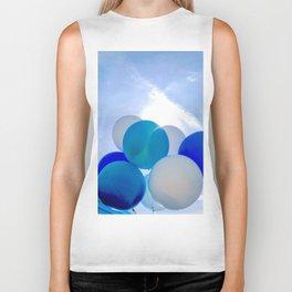 Blue Baloon Biker Tank