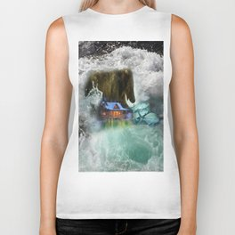 Bear Beyond Strength Biker Tank