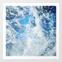 Perfect Sea Waves II Art Print