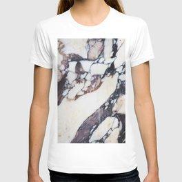 Mauve marble classic T-shirt