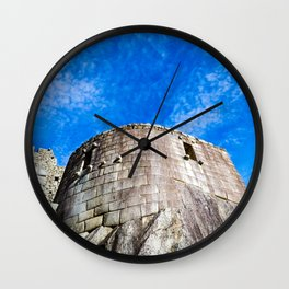 Sacred Fortress Wall Clock
