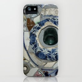Glass Bits and Pieces iPhone Case
