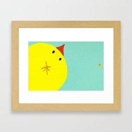 """""""The Peek"""" Framed Art Print"""