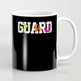 Guard Color Guard Marching Band Coffee Mug