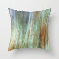 flash Throw Pillows featuring Flash by Angela Fanton