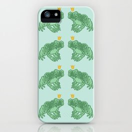 the Frog Prince iPhone Case