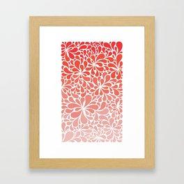 Simple Paisley Framed Art Print