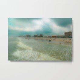 Jax Beach 2 Metal Print