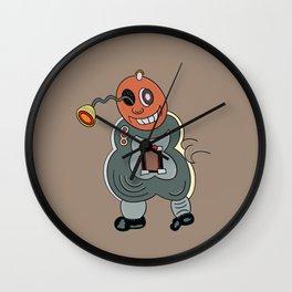 Eye-Robot Wall Clock