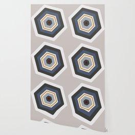 hexagon purple Wallpaper