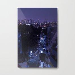 Tokyo After Dark / Liam Wong / TO:KY:OO Metal Print