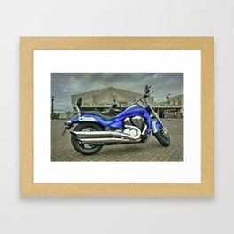 Suzuki Intruder  Framed Art Print