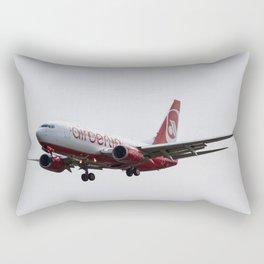 Air Berlin Boeing 737 Rectangular Pillow