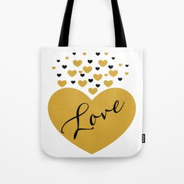 Love is Gold Tote Bag