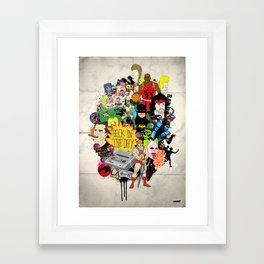 Back In The Day Framed Art Print