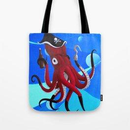 Captain Calamari Tote Bag