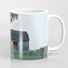 Barn built 1906 Coffee Mug