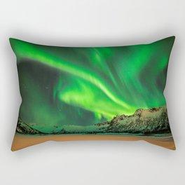 Amazing Northern Lights - NEW! Rectangular Pillow