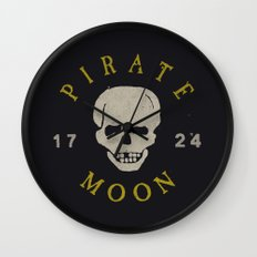 Pirate Moon Wall Clock