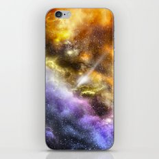 Space colours iPhone & iPod Skin