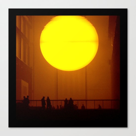 Indoor Sunset Canvas Print