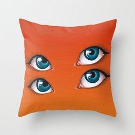 Citrus Sun Throw Pillow