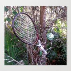 My Love of Tennis Canvas Print