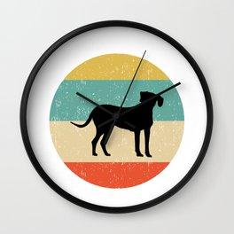Rhodesian Ridgeback Dog Gift design Wall Clock
