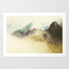 Bolivia/Peru Collaboration with Matt Shelley (Part two)  Art Print