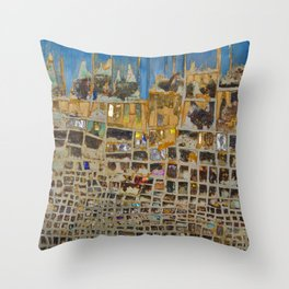 Deformation Throw Pillow