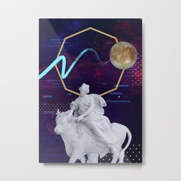 Ancient Gods and Planets: Europa Metal Print