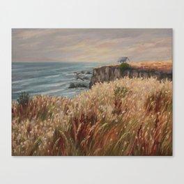Wild coast of Croisic Canvas Print