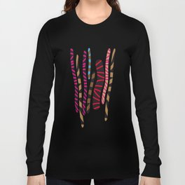 colored sticks 2 Long Sleeve T-shirt
