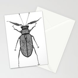 Prionus Beetle Stationery Cards