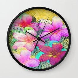 Hello Paradise Wall Clock
