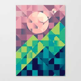 Time off Canvas Print
