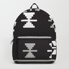 Oden in Black and White Backpack