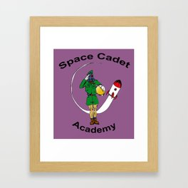 Space Cadet Academy Framed Art Print