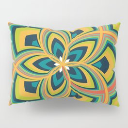 Spiral Rose Pattern C 4/4 Pillow Sham