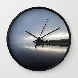 Adirondack Blues Wall Clock