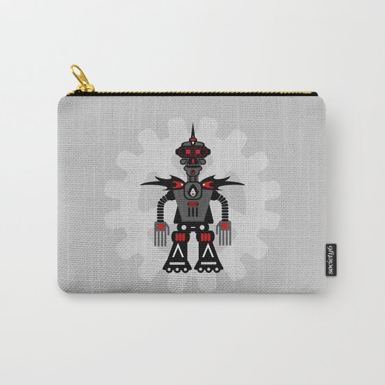 Evil Robot Carry-All Pouch