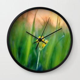 Morning beauty Wall Clock