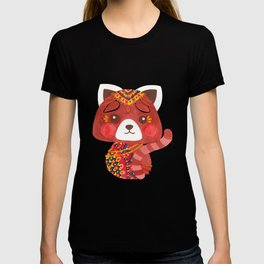 Jessica The Cute Red Panda T-shirt