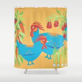 Gumbo Shower Curtain